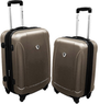 Travelers Choice 21 and 24 Expandable Spinner Luggage Set