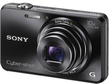 Sony Cyber Shot 18.2 MP Black Digital Camera (Refurbished)