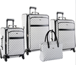 Pierre Cardin Signature Spinner 4 Piece Luggage Set