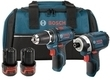 Bosch 12V Drill Driver and Impact Driver Combo Kit