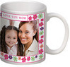 Mother's Day Mom Floral Photo Mug