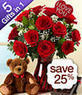 ProFlowers - Save 25% on All-in-One Valentine's Day Special