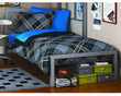 Your Zone Metal Twin Bed