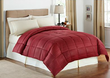 LivingQuarters Striped Microfiber Down-Alternative Comforter