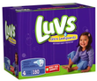 Luvs Premium Stretch Diapers w/ Ultra Leakguards, 180-Count