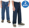 Rustler Boys Slim Relaxed Jeans, 2 Pack