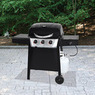 Backyard Grill 3-Burner LP Gas Grill w/ Side Burner