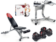 SelectTech 552 Dumbbells, Bench, Stand & DVDs
