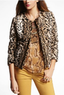 Women's Faux Leopard Fur Jacket