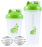 HUTT Blender Shaker Bottle 2-Pack