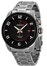Seiko Kinetic Movement Black Dial Stailess Steel Watch