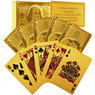 Certified Pure 24 Carat Gold Foil Poker Cards