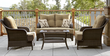 La-Z-Boy Outdoor Benjamin 4pc Seating Set