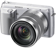 Sony Alpha NEX-F3 Mirrorless Digital Camera w/ 18-55mm Lens