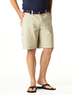 Men's Cotton Flat Front Military Shorts