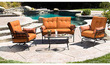 Corinth 4-Piece Patio Conversation Set, Seats 4