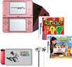 Nintendo DSi XL Ultimate Bundle w/ Case, Stylus, 2 Games