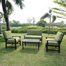 Delahey 4-Piece Patio Conversation Set