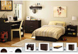 South Shore 4-piece Bedroom Furniture Set