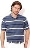 Nautica Men's Striped Performance Deck Shirt