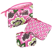 Cosmetic Bag Trio Set