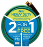2-Pack of 50' Apex Heavy Duty Garden Hose