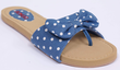 Bongo Women's Polka Dot Bow Sandals
