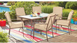 Mainstays Crossman 7-Piece Patio Dining Set