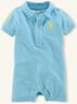 Ralph Lauren Baby Boys' Layette Neon Big Pony Shortall
