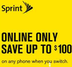 Sprint - Save up to $100