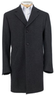 Men's 3/4-Length Traveler Tailored Fit Mini Box Topcoat