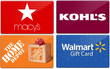 Up to 20% Off Gift Cards + Extra $5 Off