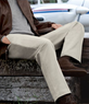 VIP Men's Take It Easy Plain Front Pants