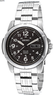 Men's Seiko Solar Power Black Dial Stainless Steel Watch