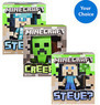 2-Pack of 6 Minecraft Vinyl Figures