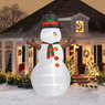Inflatable 12-Foot Airblown Christmas Snowman