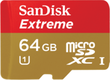 SanDisk 64GB Memory Card w/ SD Card Adapter