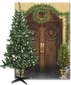 6' Pre-Lit Tree & 5pc Entryway Set
