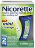 Nicorette 2mg Mini Lozenge, 81 Count