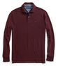 Men's Pique Solid Long-Sleeved Polo