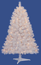 Hamilton 4.5-Foot Pre-Lit White Spruce Christmas Tree