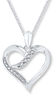 $30 Off Diamond Heart Necklace + Free Shipping