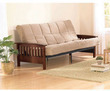 Mainstays Mission Wood Arm Futon