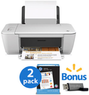 HP Deskjet 1512 Inkjet All-in-One Printer Bundle