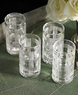 Lauren Home Glen Plaid 4-Piece Glass Set