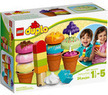 LEGO DUPLO Creative Play Creative Ice Cream Building Set