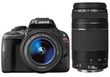 Canon EOS Rebel SL1 DSLR Camera Kit w/ 2 Lenses