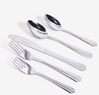 Gibson Classic Canberra 45-Pc. Stainless Steel Flatware Set