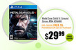 Metal Gear Solid V: Ground Zeroes Preorder + $5 Newegg GC
