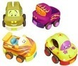 4-Pack of B. Wheeee-ls Soft Toy Cars